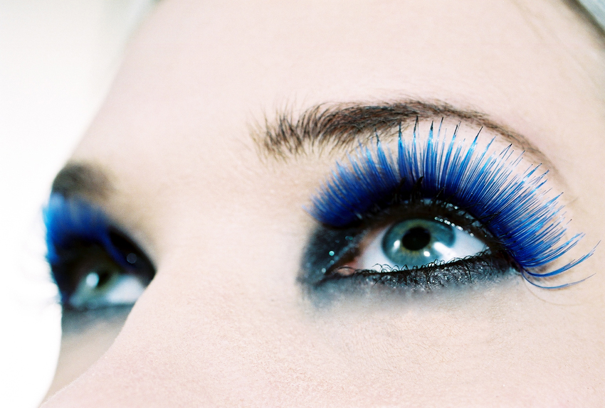 pretty eye makeup for blue eyes