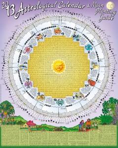 Calendar-2013- Moon