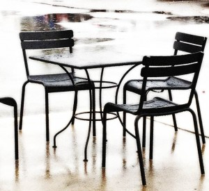 Rainy Seating